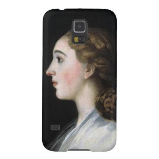 Retrato del arte de Maria Teresa de Vallabriga Carcasas De Galaxy S5