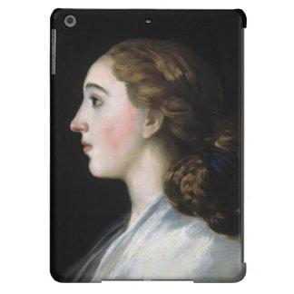Retrato del arte de Maria Teresa de Vallabriga Goy Funda Para iPad Air