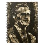 Retrato del arte del Grunge de Mitt Romney Cuaderno