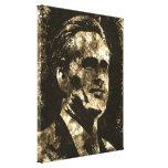 Retrato del arte del Grunge de Mitt Romney Impresión En Lona