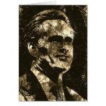 Retrato del arte del Grunge de Mitt Romney Felicitaciones