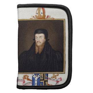 Retrato del arzobispo de Edmund Grindal (c.1519-83 Planificador