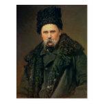 Retrato del autor ucraniano postales