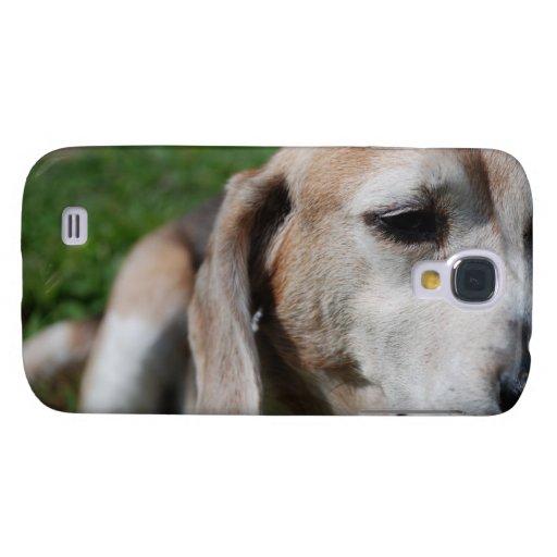 retrato del beagle funda para galaxy s4