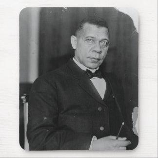 Retrato del Booker T. Washington del abolicionista Alfombrillas De Ratón