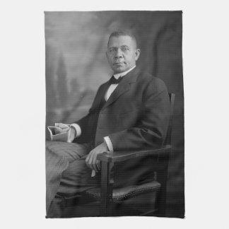 Retrato del Booker T. Washington por Harris y Toalla