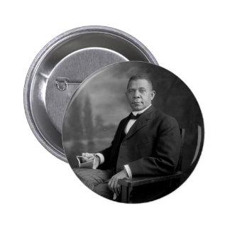 Retrato del Booker T. Washington por Harris y Pin