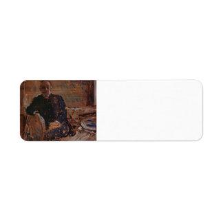 Retrato del buey de Philip Wilson de Francisco Jam Etiquetas De Remite