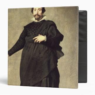 """Retrato del bufón Pablo de Valladolid Carpeta 1 1/2"""""""
