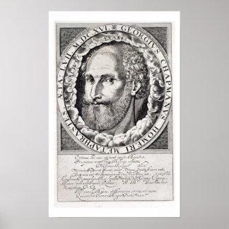 Retrato del buhonero de George (c.1559-1634) c.160 Poster