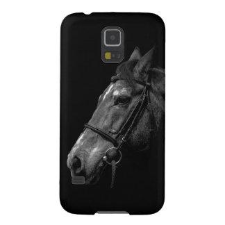 Retrato del caballo - caja de la galaxia S5 de Carcasas De Galaxy S5