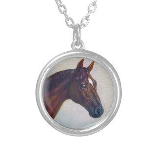 Retrato del caballo grimpolas