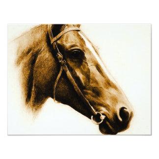 Retrato del caballo comunicado