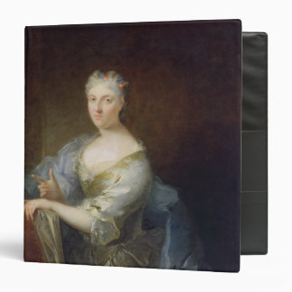 "Retrato del cantante Marie-Louise Desmatins Carpeta 1 1/2"""