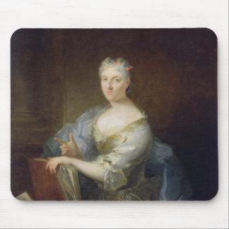 Retrato del cantante Marie-Louise Desmatins Tapete De Raton