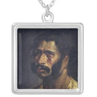 Retrato del carpintero 'del Medusa Collar Plateado