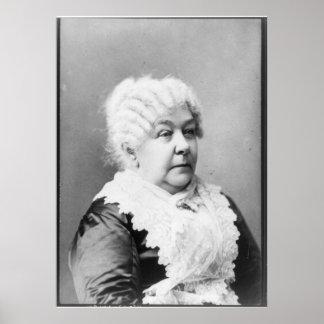 Retrato del carrito Stanton de Elizabeth Poster