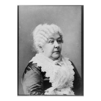 Retrato del carrito Stanton de Elizabeth Póster