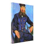 Retrato del cartero José Roulin de Van Gogh Impresiones En Lona