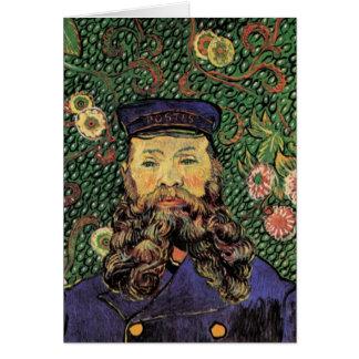 Retrato del cartero José Roulin de Van Gogh Tarjeta De Felicitación