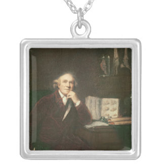 Retrato del cazador de Juan después de sir Joshua Colgante Cuadrado