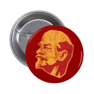 retrato del cccp de Vladimir Lenin Pin Redondo 5 Cm