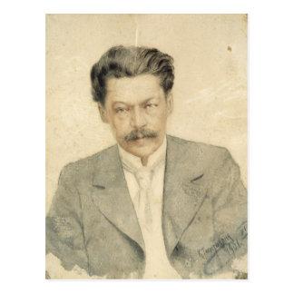 Retrato del compositor Antón Arensky Postal