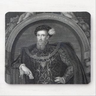 Retrato del conde de Henry Howard de Surrey Alfombrillas De Ratón
