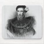 Retrato del conde de Henry Howard de Surrey Mousepads