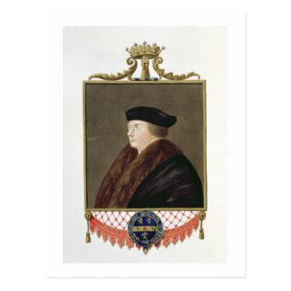 Retrato del conde de los Ist de Thomas Cromwell (c Postal