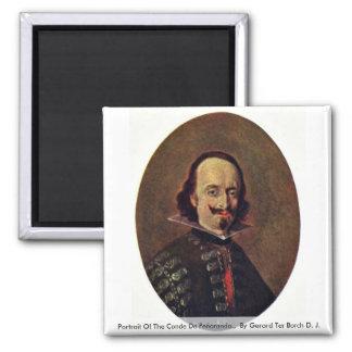 Retrato del Conde De Peñaranda. Imán Cuadrado
