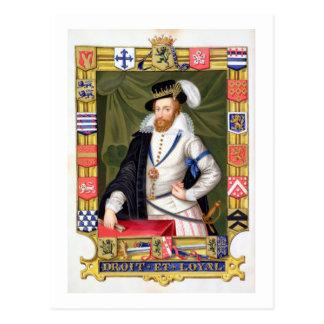 Retrato del conde de Roberto Dudley (c.1532-88) de Tarjeta Postal