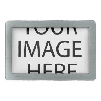 Retrato del cordero hebillas de cinturon rectangulares