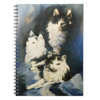 Retrato del cuaderno anteado