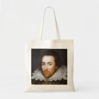 Retrato del curso de la vida de Shakespeare Bolsas Lienzo