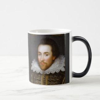 Retrato del curso de la vida de Shakespeare Taza De Café