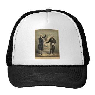[Retrato del curtidor y de Ives de Washington y de Gorros Bordados