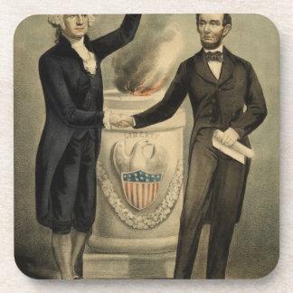 Retrato del curtidor y de Ives de Washington y de Posavaso