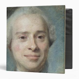 """Retrato del d'Alembert 1753 de Jean Le Rond Carpeta 1 1/2"""""""