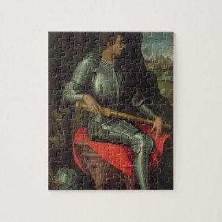 Retrato del de Medici, 1534 de Alessandro (aceite  Puzzles Con Fotos