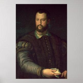 Retrato del de Medici 1559 de Cosimo I Posters