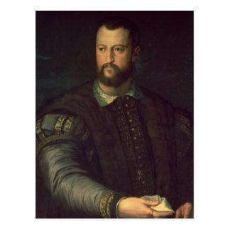 Retrato del de Medici 1559 de Cosimo I Postal