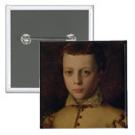 Retrato del de Medici de Fernando Pin Cuadrada 5 Cm