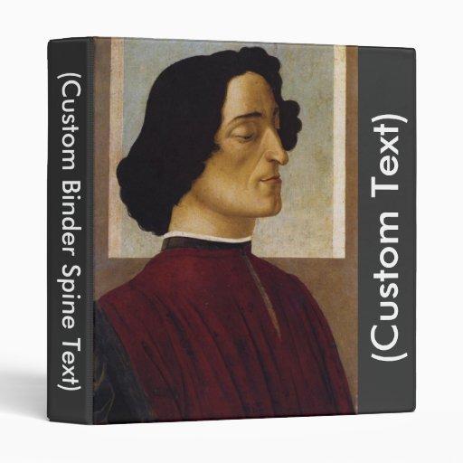 """Retrato del de Medici de Juliano Carpeta 1"""""""