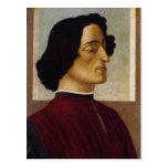 Retrato del de Medici de Juliano Tarjeta Postal
