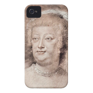 Retrato del de Medici de Maria de Paul Rubens iPhone 4 Fundas