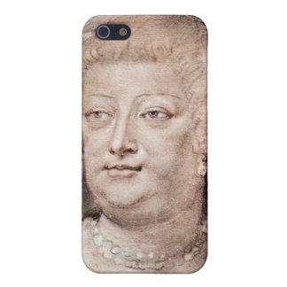 Retrato del de Medici de Maria de Paul Rubens iPhone 5 Coberturas