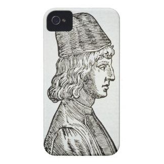 Retrato del della Mirandola (1463-94) de Pico, de Case-Mate iPhone 4 Protector
