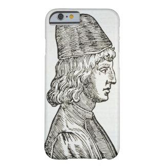 Retrato del della Mirandola (1463-94) de Pico, de Funda De iPhone 6 Barely There