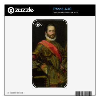 Retrato del della Rovere, c.1572 (aceite de Franci Calcomanías Para iPhone 4S